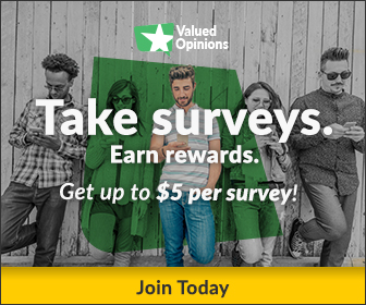 Valued Opinions Paid Surveys - Free Signup