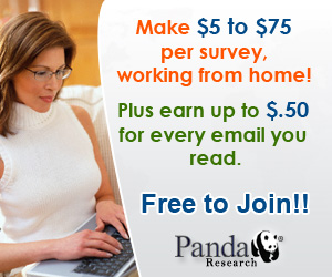 Panda Research - Free Signup - Earn Cash and Rewards