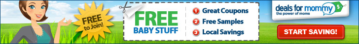 Free Baby Stuff from Deals for Mommy
