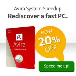 Avira System Speedup - Speeds Up Slow Computers