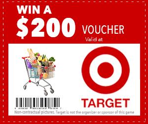 $200 Target Voucher
