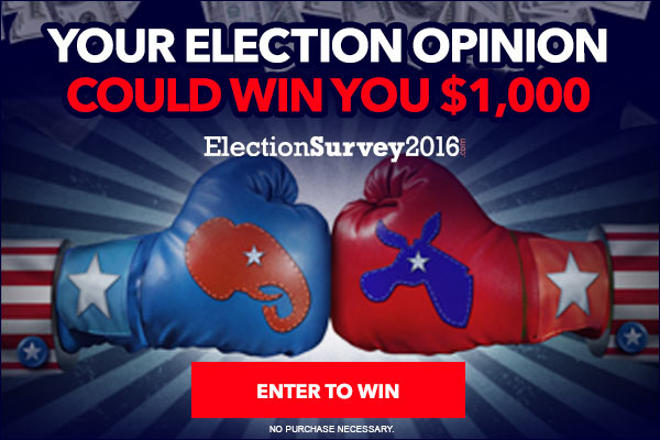 Paid Online Research Study on Election 2016 ($300-1K)