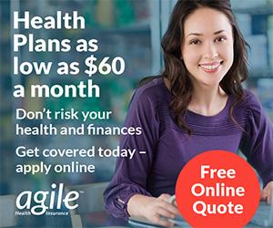 Agile Health Insurance Banner