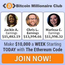 bitcoin millionaire club advertisment