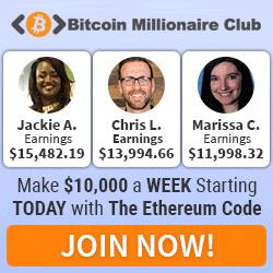 Bitcoin Millionaire Club Banner