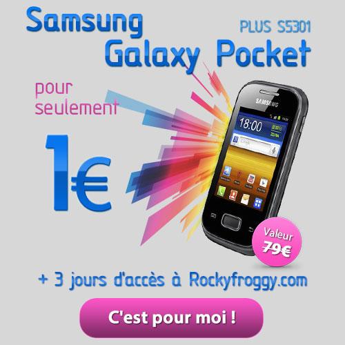 Pocket Samsung Galaxy for one €