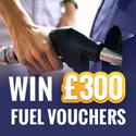 Win £300 in Fuel Vouchers