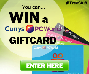 Win £500 Currys Gift Card