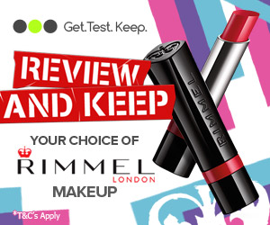 Review Test and Keep Rimmel Makeup