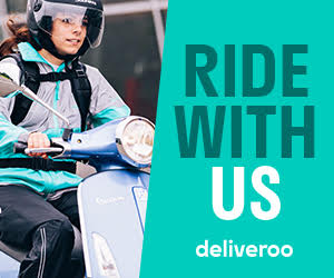 Deliveroo - Food Delivery Work