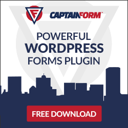 Free Captain Form - Wordpress Plugin